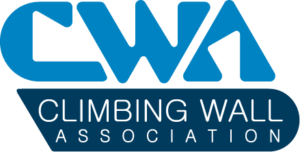 Graphic logo for the Climbing Wall Association