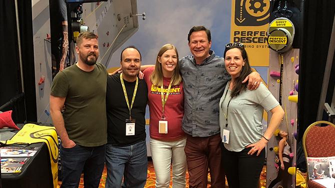Perfect Descent Team at CWA 2018