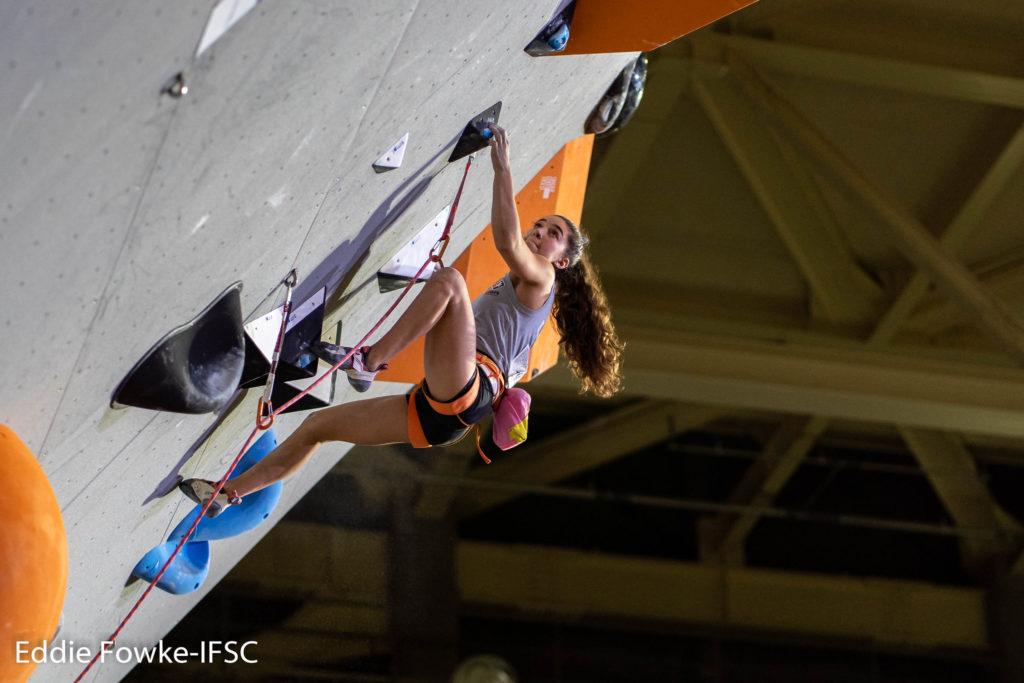 brooke raboutou lead climbing 2019 climbing world championships